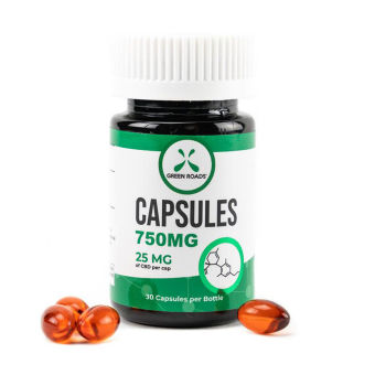Green Roads - CBD Capsules – 750 mg