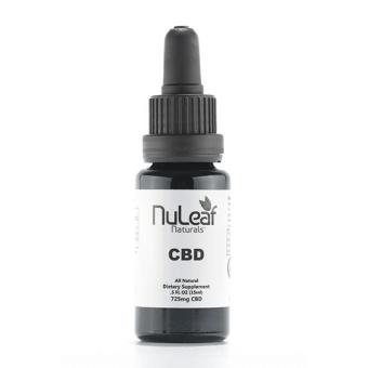 NuLeaf naturals - 725mg Full Spectrum CBD Oil, High Grade Hemp Extract (50mg/ml)