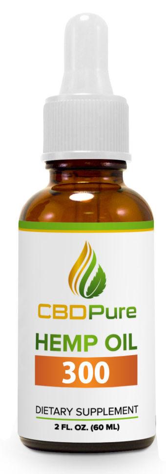 CBDPure - Hemp Oil 300