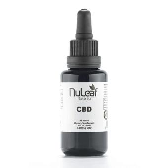 NuLeaf naturals - 1450mg Full Spectrum CBD Oil, High Grade Hemp Extract (50mg/ml)