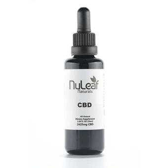 NuLeaf naturals - 2425mg Full Spectrum CBD Oil, High Grade Hemp Extract (50mg/ml)