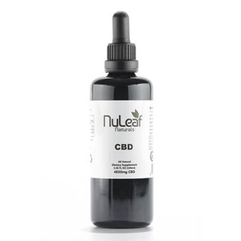 NuLeaf naturals - 4850mg Full Spectrum CBD Oil, High Grade Hemp Extract (50mg/ml)