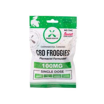 Green Roads - CBD Froggies – 100 mg