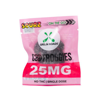 Green Roads - CBD Froggie SOURZ – 25 mg
