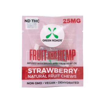 Green Roads - CBD Strawberry Fruit & Hemp – 25 mg