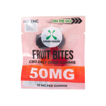 Green Roads - CBD Fruit Bites – 50 mg