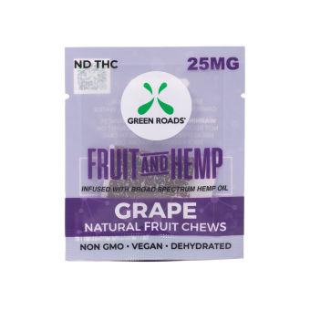 Green Roads - CBD Grape Fruit & Hemp – 25 mg