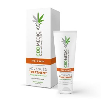 CBDMEDIC - ITCH, RASH & PAIN MEDICATED OINTMENT