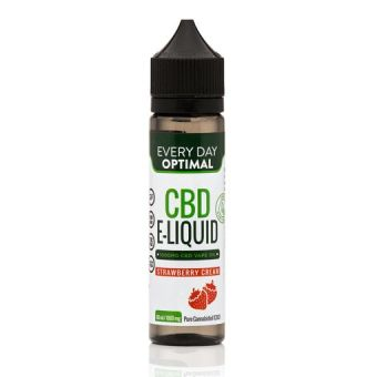 Every Day Optimal - 1,000mg Pure CBD Vape Oil | Strawberry Cream