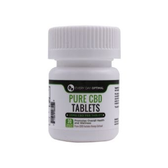 Every Day Optimal - CBD Tablets | 25mg-100mg Pure CBD