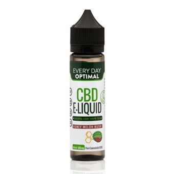 Every Day Optimal - CBD E-Liquid For Vaping | 300mg CBD in 60ml Bottle | Honey Melon Kush