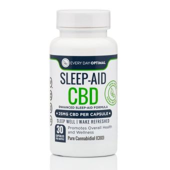 Every Day Optimal - Sleep Aid CBD Capsules, 25mg CBD per Pill