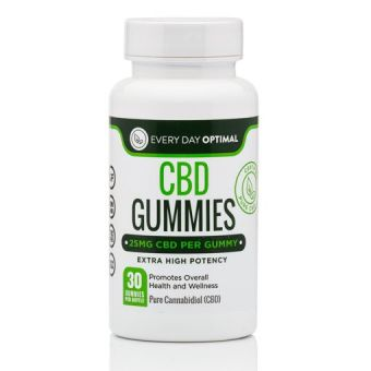 Every Day Optimal - CBD Oil Gummies | 25mg CBD Gummy Bears