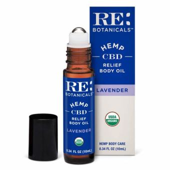RE Botanicals - RELIEF BODY OIL - LAVENDER