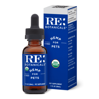 RE Botanicals - HEMP TINCTURE FOR PETS
