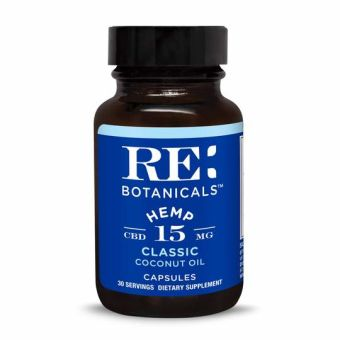 RE Botanicals - HEMP 15MG CLASSIC CAPSULES - 30 SERVINGS