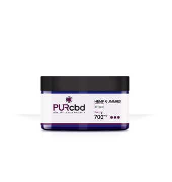 PurCBD - PUR CBD Hemp Gummies Berry - 700mg