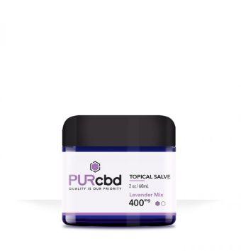 PurCBD - PUR CBD Topical Salves Lavender Mix - 400mg
