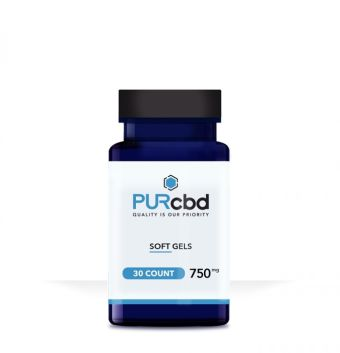 PurCBD - PUR CBD Soft Gels - 750mg