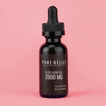 WeSay trusted reviews | Pure Relief - Pure Hemp® Extra Strength CBD Oil -2500mg