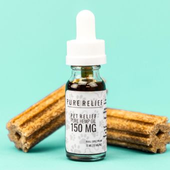 WeSay trusted reviews   Pure Relief - Pet Relief® Full Spectrum CBD Oil - 150mg