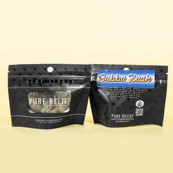 WeSay trusted reviews | Pure Relief - Raw Hemp® CBD Flower – 3.5g Resealable Package - Pre-'98 Bubba Kush