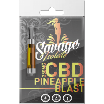 Savage CBD - CBD Isolate Vape Cartridge by Savage CBD - 250mg