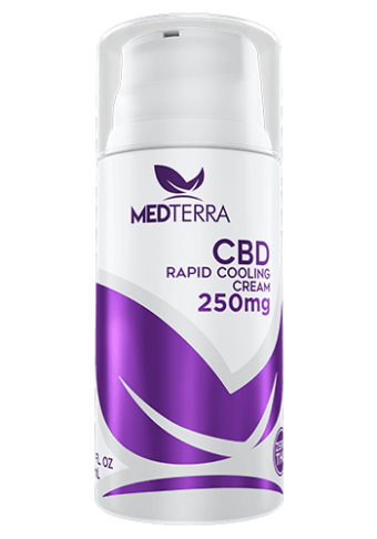 MedTerra - CBD RAPID COOLING CREAM - 250MG