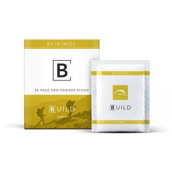Elixinol - CBD Powder 30 Pack – 10mg Citrus Flavor