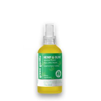Green Gorilla - Organic Full Spectrum CBD Oil 1200mg