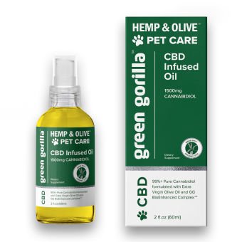 Green Gorilla - CBD Oil For Pets 1500 mg