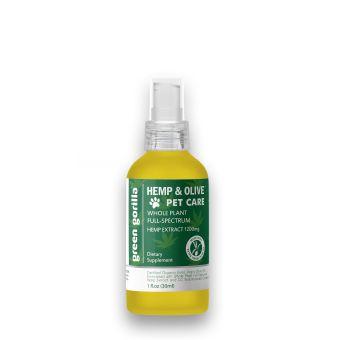 Green Gorilla - Full Spectrum CBD Oil For Pets 1200 mg