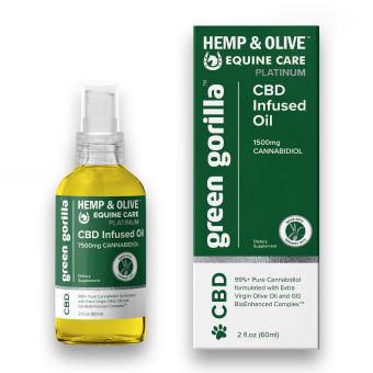 Green Gorilla - CBD Oil For Horses 7500 mg