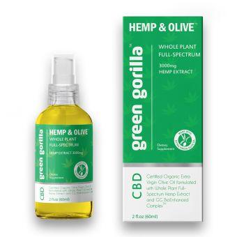 Green Gorilla - Full Spectrum CBD Oil 3000 mg