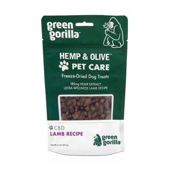 Green Gorilla - Freeze-Dried CBD Dog Treats 180 mg