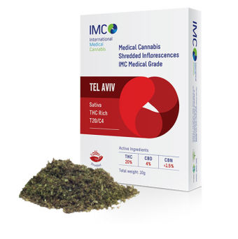 IMC - תפרחות קנאביס רפואי גרוס - תל אביב T20/C4
