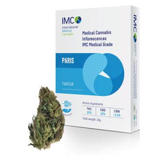 IMC - תפרחות קנאביס רפואי - פריז T10/C10