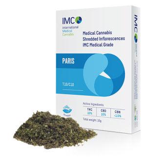 IMC - תפרחות קנאביס רפואי גרוס - פריז T10/C10