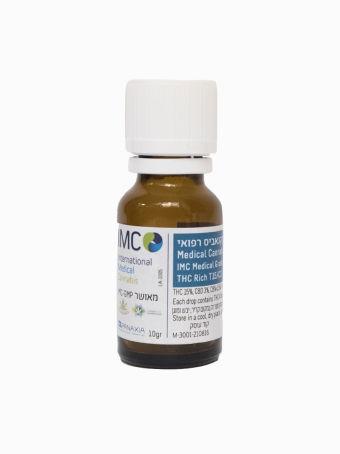 IMC - שמן קנאביס רפואי T3/C15 - IMC