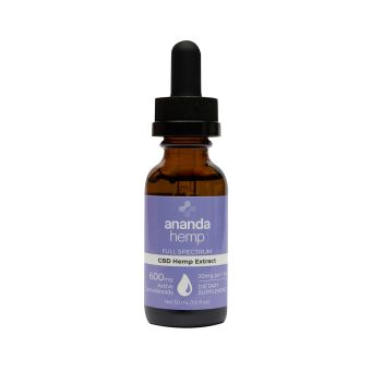 anandaHemp - FULL SPECTRUM 600 CBD OIL, PREMIUM HEMP EXTRACT