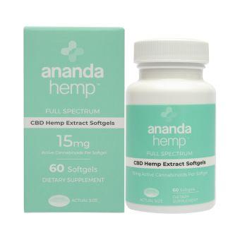 anandaHemp - SPECTRUM GELS 60 COUNT