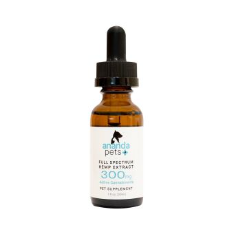 anandaHemp - PETS FULL SPECTRUM CBD OIL, PREMIUM HEMP EXTRACT