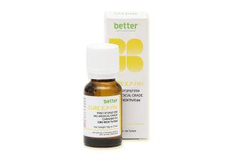 בטר - Better - שמן קנאביס רפואי - T3/C15 - Cure E.P