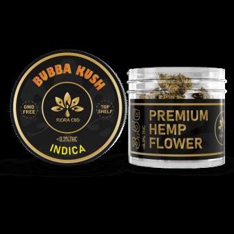 FloraCBD - BUBBA KUSH CBD FLOWER