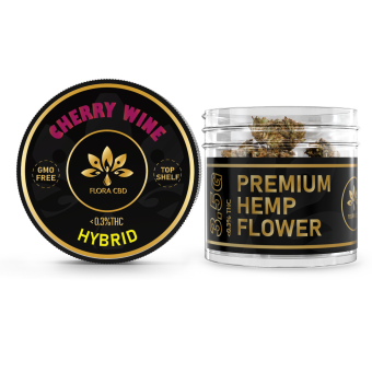 FloraCBD - CHERRY WINE CBD FLOWER