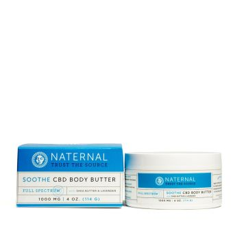 Naternal - Soothe CBD Body Butter 1000mg