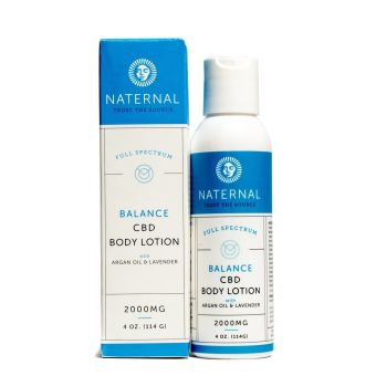 Naternal - Balance CBD Body Lotion 2000mg