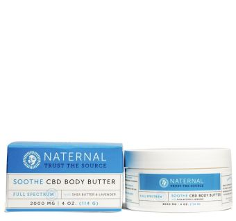 Naternal - Soothe CBD Body Butter 2000mg