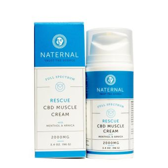 Naternal - Rescue CBD Muscle Cream 2000mg