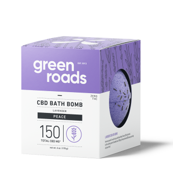 Green Roads - 150MG PEACE CBD BATH BOMB
